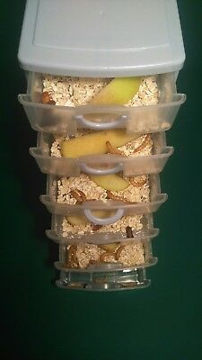 Small 6 draw Mealworm Breeding Tower Starter Kit (Includes live insects)