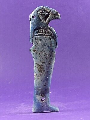 Very Beautiful Circa 715-332Bce Ancient Egyptian Horus God Amulet
