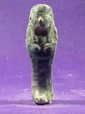 Stunning Shabti - Circa 664-332Bc Ancient Egyptian Glazed Shabti