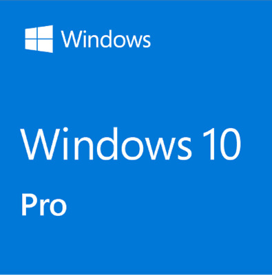 Microsoft Windows 10 Pro Professional 32/64bit License Key Product Code
