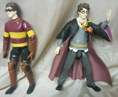 """2 X Harry Potter And The Prisoner Of Azkaban Action Figures 8"""" Tall"""