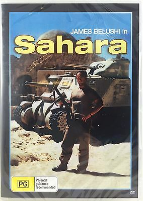 Sahara 1995 James Belushi DVD NTSC Region Free New Sealed