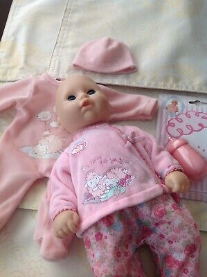 My First Baby Annabelle With Clothes Bottle And Dummy