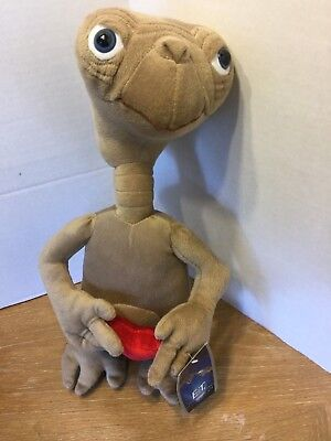 "ET The Extra-Terrestrial Universal Toy Factory 16"" Plush Alien With HEART NWT"