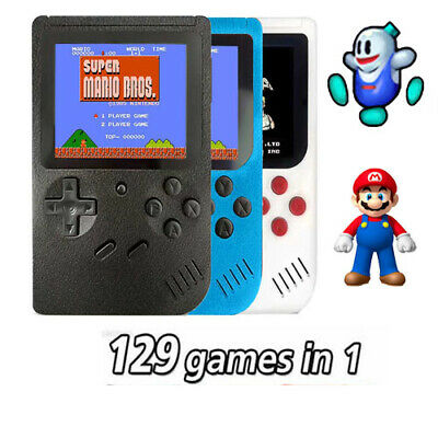 Console Portatile 8 Bit 129 Giochi Videogioco Display Lcd Video Game Boy Girl
