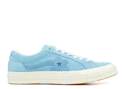 9538f49b5ea New Converse One Star Golf Le Fleur Suede Trainers UK Size 6 Bachelor Blue  Tyler