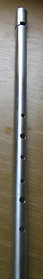 Shearwater Alto ' F' alloy low whistle - Irish - Celtic - handcrafted to order