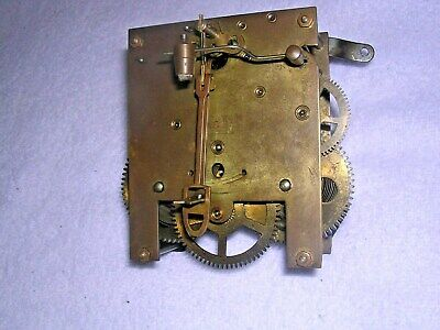 CLOCK  PARTS , BRASS CLOCK MOVEMENT w