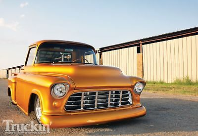 """1955 Chevrolet Other Pickups  1955 Chevrolet """"McHenry's Golden Nugget"""" Pick up One of a kind Build NOT A FORD"""