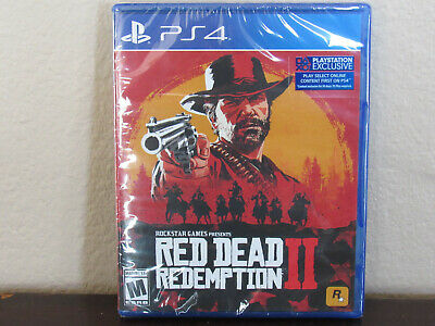 Red Dead Redemption 2 II (PS4, 2018) BRAND NEW