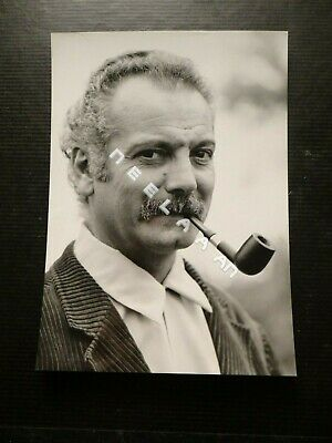 Photo Originale De Georges Brassens De Claude Delorme-Philips