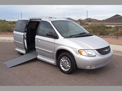 2003 Chrysler Town & Country Limited Wheelchair Handicap Mobility Van 2003 Chrysler Town & Country Limited Wheelchair Handicap Mobility Van Low Miles