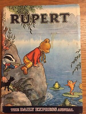 Rupert Bear Annual - Number 34- Year 1969 Issue - Hardback Book