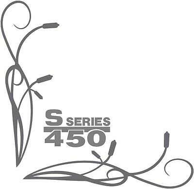 Scania S450 Style Truck Side Window Stickers Decals Graphics x2