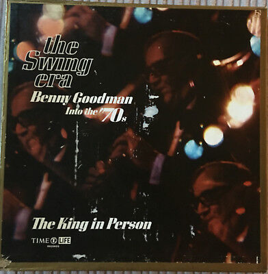 Benny Goodman 'The Swing Era - Into The 70's' on Time Life Records, 1974