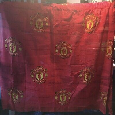 manchester united curtains