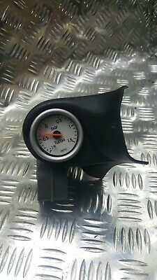 subaru impreza wrx sti smiths boost gauge and pillow pod