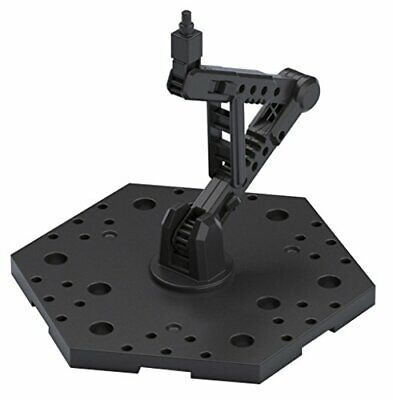 BANDAI Gundam ACTION BASE 5 Black 1/144 Scale Display Stand New from Japan