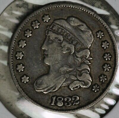 Nice 1832 Capped Bust half Dime - Very Fine Condition Coin