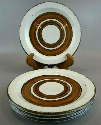 Midwinter Stonehenge EARTH Bread & Butter Plates ~SET OF 4 ~