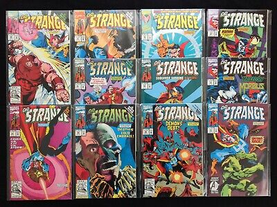 DR STRANGE SORCERER SUPREME Lot of 11 Marvel Comic Books (c) - Run #43-53!