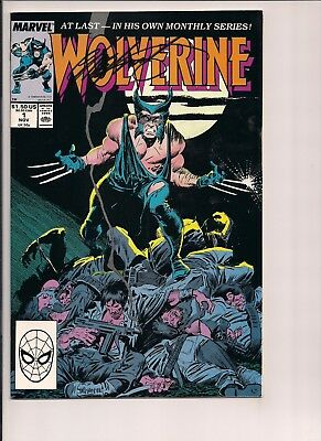 Wolverine #1 Signed by Chris Claremont W/COA (Nov 1988, Marvel)