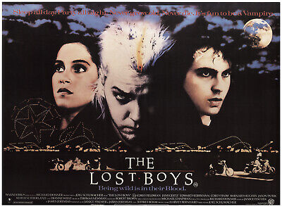 The Lost Boys 1987 28x38 Orig Movie Poster FFF-73480 Rolled Very Fine Horror