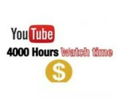 Youtube Channel Verified with google Adsense Account (4K Watch Hours)Any Country