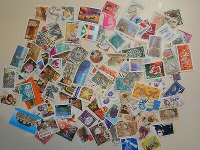 100+ Worldwide Used Stamps Assortment All Different
