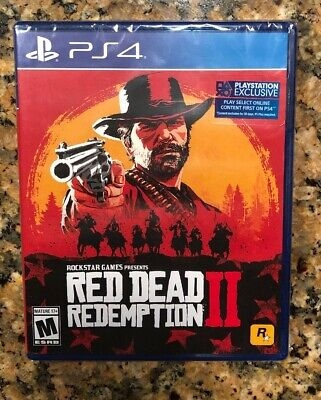 Red Dead Redemption 2 Xbox One/PlayStation 4 Brand New Fast Free Shipping