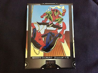 Spider-Man Cookie Crisp trading card 1994 Green Goblin