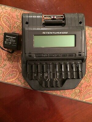 Stentura 6000 Stenograph Electric Steno Court Reporting Machine