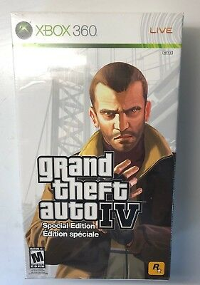 Grand Theft Auto IV Special Edition (Xbox 360/One/X) gta4 gta 4 collector NEW