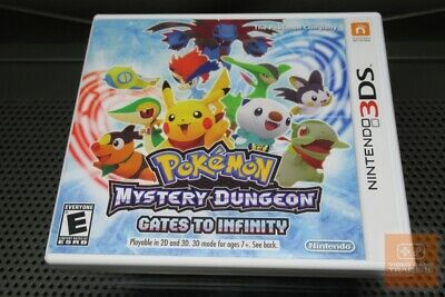Pokemon Mystery Dungeon: Gates to Infinity (Nintendo 3DS 2013) COMPLETE! - EX!