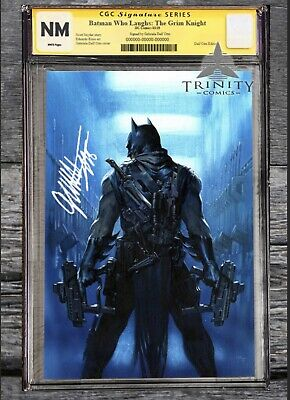 Batman Who Laughs Grim Knight #1  CGC 9.8 Signed by Gabriele Dell'Otto