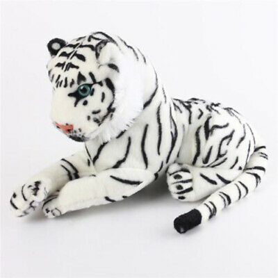 White Tiger Fluffy Stuffed Animal Plush Doll Toy Kids Baby gift free shipping
