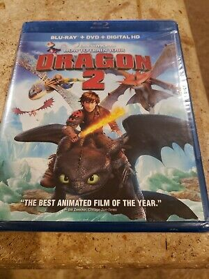 How to Train Your Dragon 2  Blu-ray, DVD combo pack, 2014)