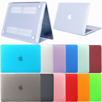 Rubberized Hard Case Cover Protector For Apple Macbook Pro 12 13 15 Inch Retina