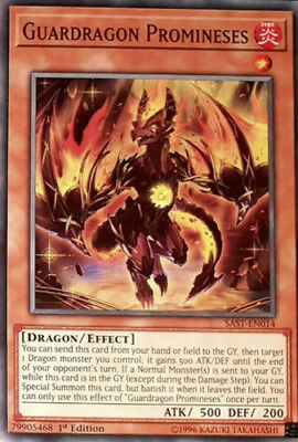 x3 Guardragon Promineses - SAST-EN014 - Common - 1st Edition Near Mint In Hand