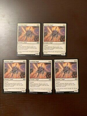 5x Archway Angel - Ravnica Allegiance - MTG - NM/M Pack Fresh