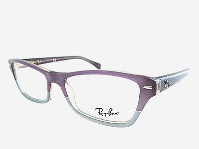 9f12e15365 New Authentic Ray Ban RB 5256 5107 Violet Faded Grey 54mm Frames Eyeglasses  RX