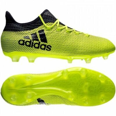 d9f9ae4c9 MENS ADIDAS X 17.2 FG S82325 Soccer Cleats-Size 10 or 12 Solar Yellow  130  - EUR 49