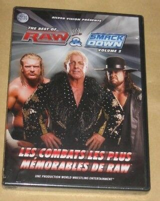 """New DVD Catch """"THE BEST OF RAW & SMACKDOWN : Volume 2"""" WWE [NEUF SOUS CELLO!!!]"""
