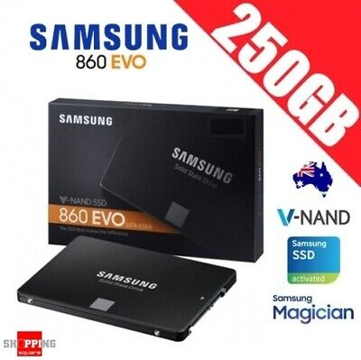 "Samsung SSD 860 EVO 250GB 2.5"" Solid State Drive Disk PC Laptop Notebook Memory"