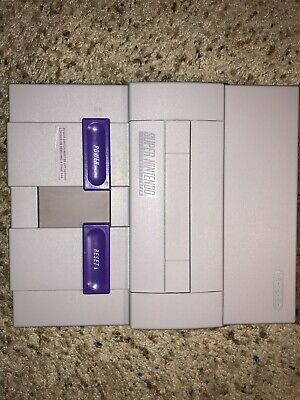 Ultimate RGB SNES 1 Chip LED New Capacitors Modded w/THS7374 Amp Super Nintendo