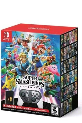 Super Smash Bros Ultimate Limited Special Edition for Nintendo Switch NEW SEALED