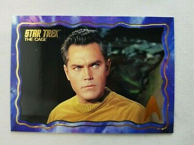 Star Trek TOS 50th Anniversary, The Cage Uncut Insert Card #18 Odds 1 in 12
