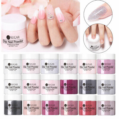 UR SUGAR 30ml Dipping Powder Natural Dry Acrylic  Decoration Pink Clear