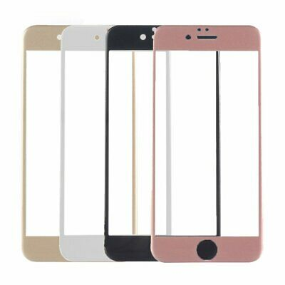 Carbon Fiber 3D Full Screen Protector Tempered Glass Cover For iPhone 6/6S EC