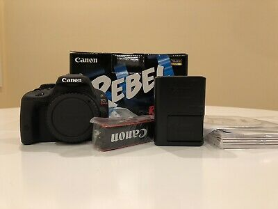 Canon EOS Rebel SL1 18.0MP Digital SLR Camera (Body Only) LOW SHUTTER COUNT